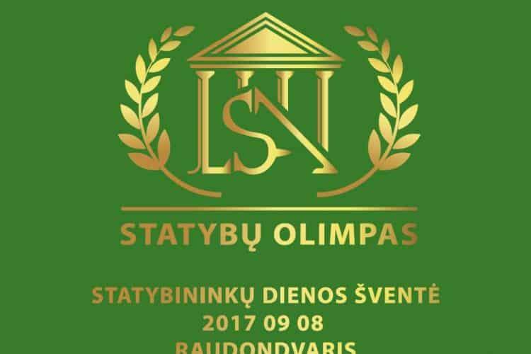 """""""Prorentus"""" Ltd. and Linas Adomavičius  awarded on National Builders Day"""