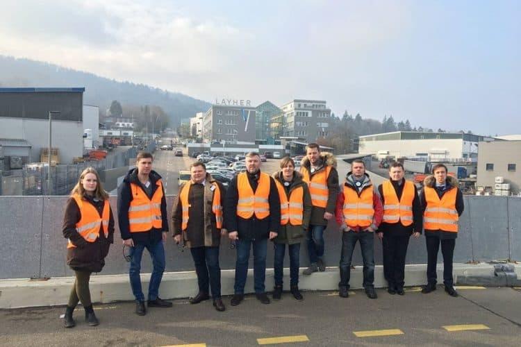 Wilhelm Layher GmbH & Co KG  factory visit