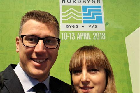 Prorentus visit in Sweden Nordbygg2018 exhibition