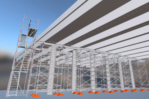 Viaduct reconstruction on the Highway A1 Vilnius-Kaunas-Klaipeda 210,65 km