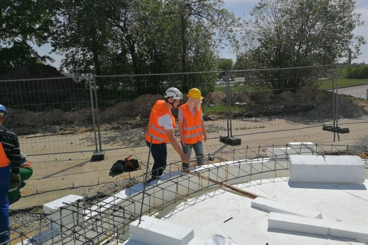 Our engineers become mentors for students of civil engineering