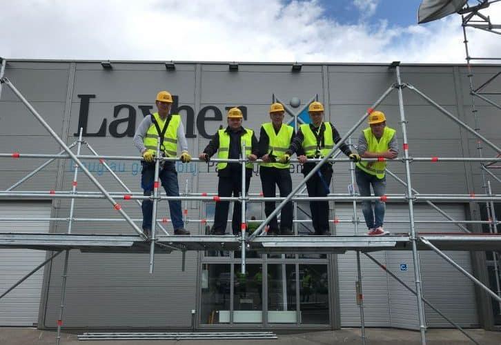 Baltic Scaffolders Association (BSA) organizedthe training for scaffolder's safety