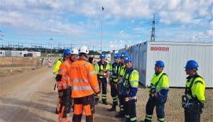 Prorentus shoring Layher Kaunas CHP power plant