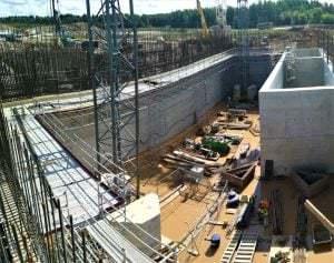 Prorentus shoring Layher Kaunas CHP power plant TG60, Allround, FW