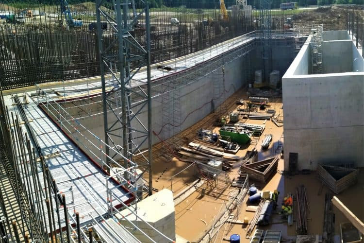 New Prorentus shoring contracting project – Kaunas Fortum CHP plant