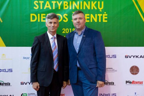 """Prorentus"" sponsored the celebration of Lithuanian Construction Association 25th anniversary"