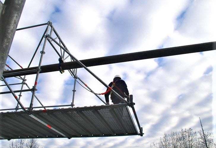 Baltic Scaffolders Association is seeking to reduce profession risks