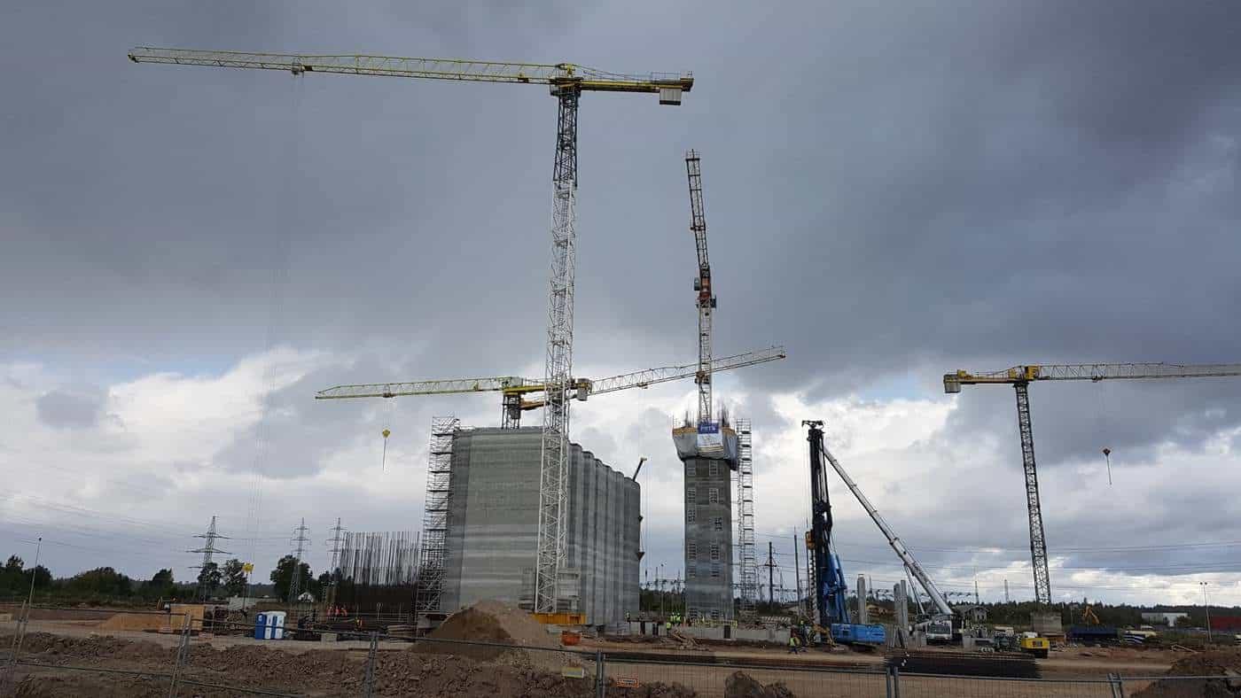 Kauno Fortum kogeneracinė elektrinė, CHP power plant, Prorentus, Layher