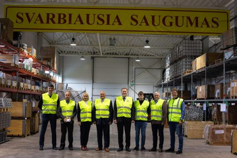 The meeting between Baltic Scaffolders Association and The State Labour Inspectorate