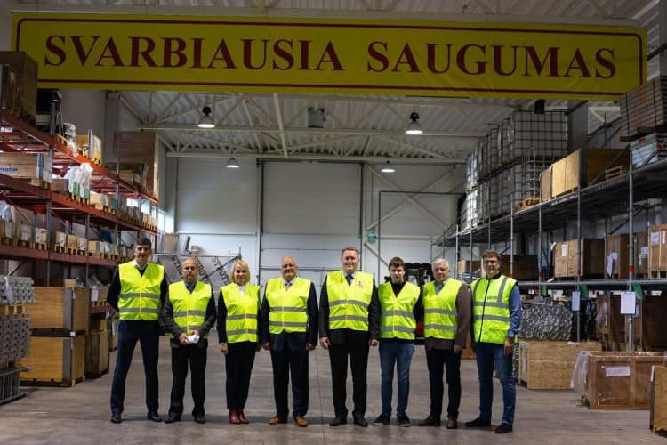 The meeting between Baltic Scaffolders Association andThe State Labour Inspectorate