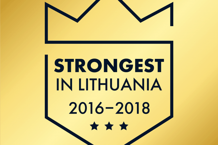 Prorentus Ltd. – Award for the strongest in Lithuania