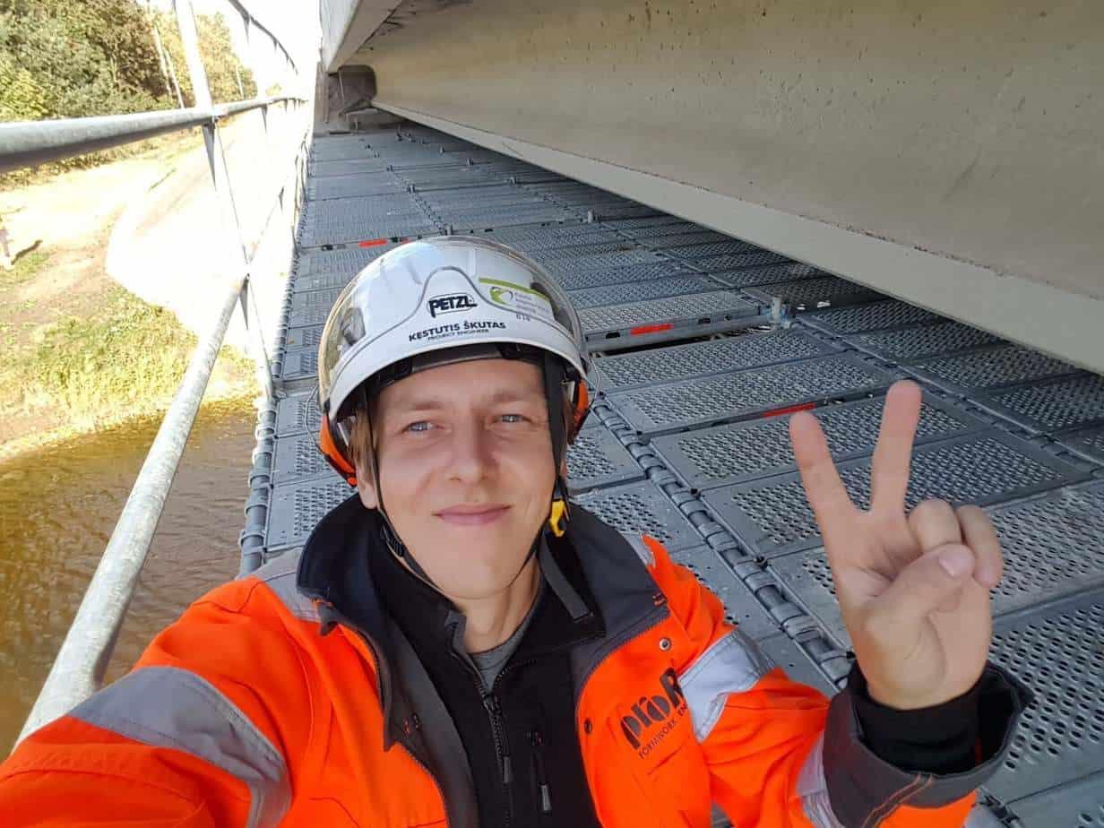 Prorentus shoring contracting for bridge renovation