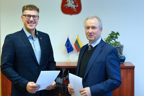 Vilnius Gediminas Technical University and Prorentus has signed a partnership agreement