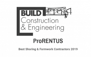 Prorentus award 2019 Build magazine