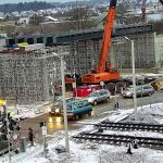 Prorentus bridge, Layher, shoring, TG-60, viaduct